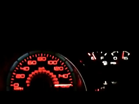 2011 GT500 Top Speed Blast up to 155 mph/the Speed Limiter - Low Res
