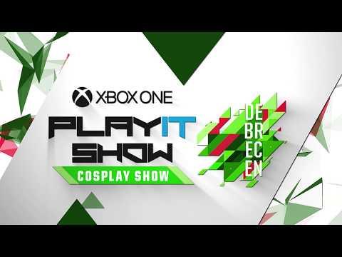 2018 PLAYIT SHOW DEBRECEN - Cosplay Show