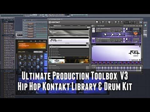 Ultimate Production Toolbox Vol.3 - Kontakt 5 Hip Hop-/Urban Library
