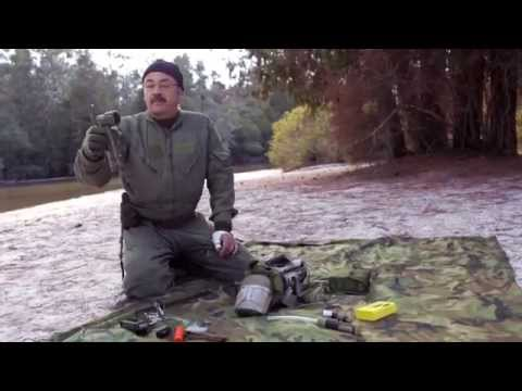 Navy Skills For Life – Land Survival Training – Survival Kit