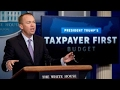 We take care of taxpayers first: OMB Director Mulvaney