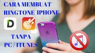 Gambar cover Cara membuat Ringtone di iPhone tanpa PC dan iTunes