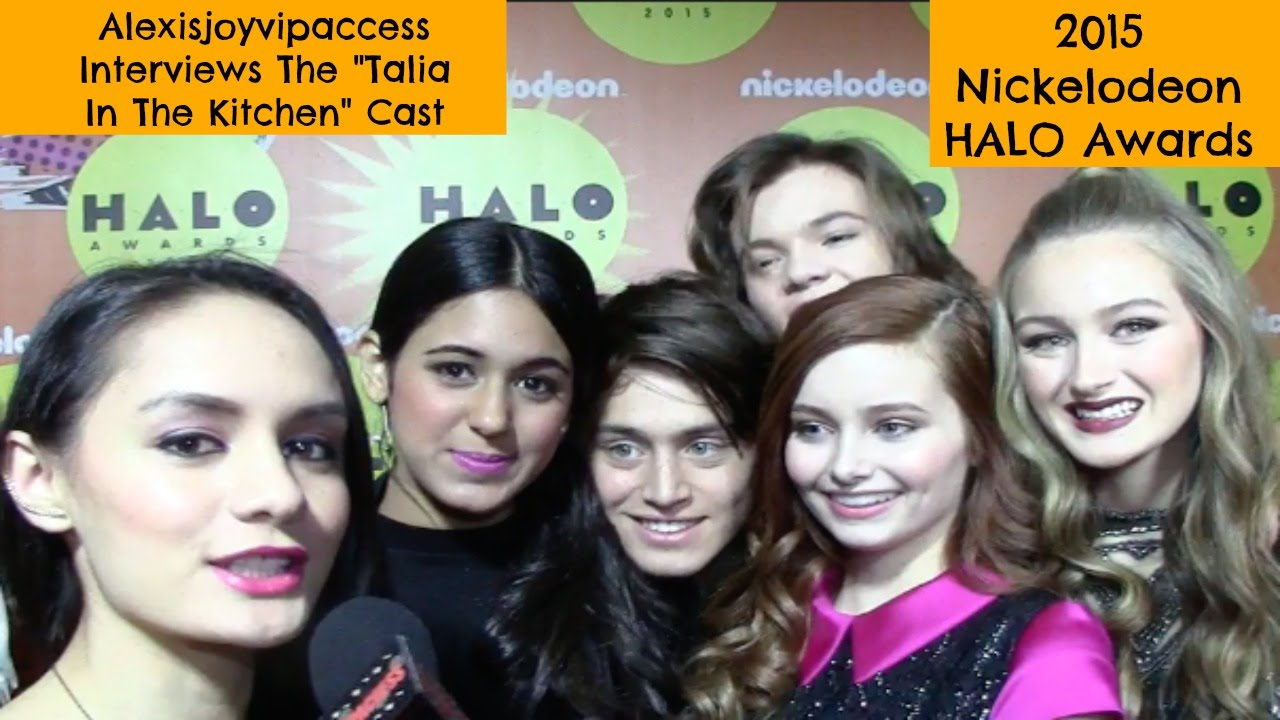 The Kitchen Cast Talia In The Kitchen Cast Interview With Alexisjoyvipaccess  2015