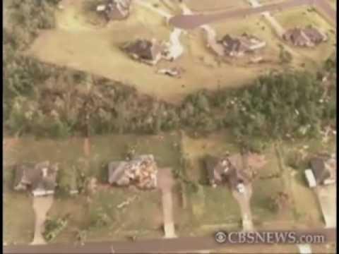 Okla. Town Slammed by Tornado