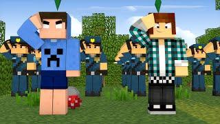 Minecraft : TREINANDO POLICIAIS !! - The Sims Craft Ep.243