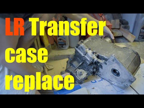 How to replace a Land Rover transfer case – LT230