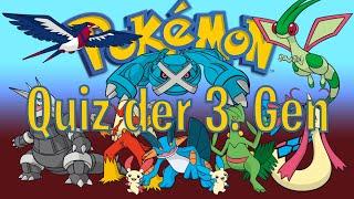 Pokemon Quiz Gen 3: Wäre Professor Birk stolz?