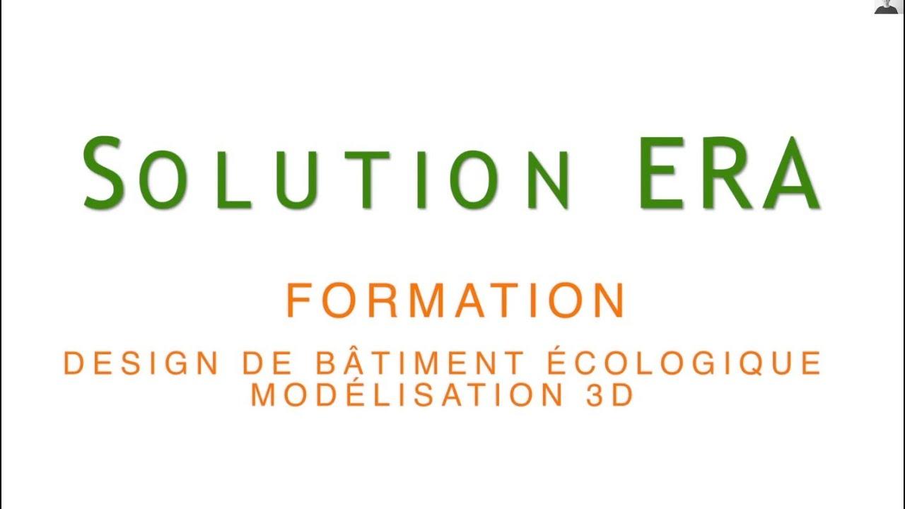 Formation Maison Ecologique