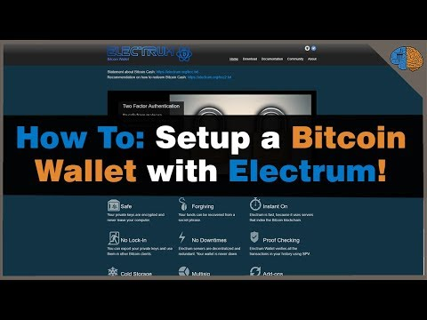 How to Setup a Bitcoin Wallet with Electrum