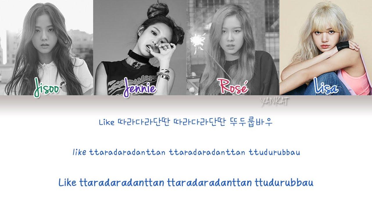 Blackpink Boombayah Color Coded Han Rom Eng Lyrics By Yankat