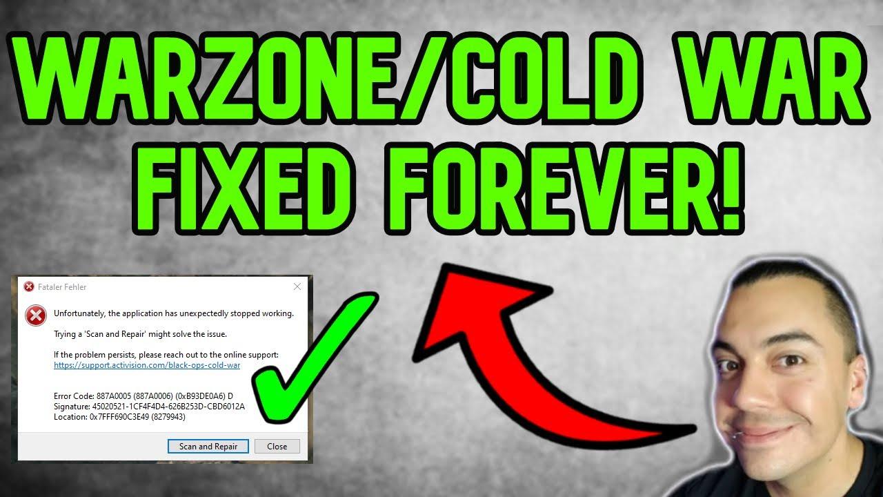 Download How To FIX WARZONE COLD WAR SEASON 2 CRASHES DEV ERROR SCAN REPAIR!
