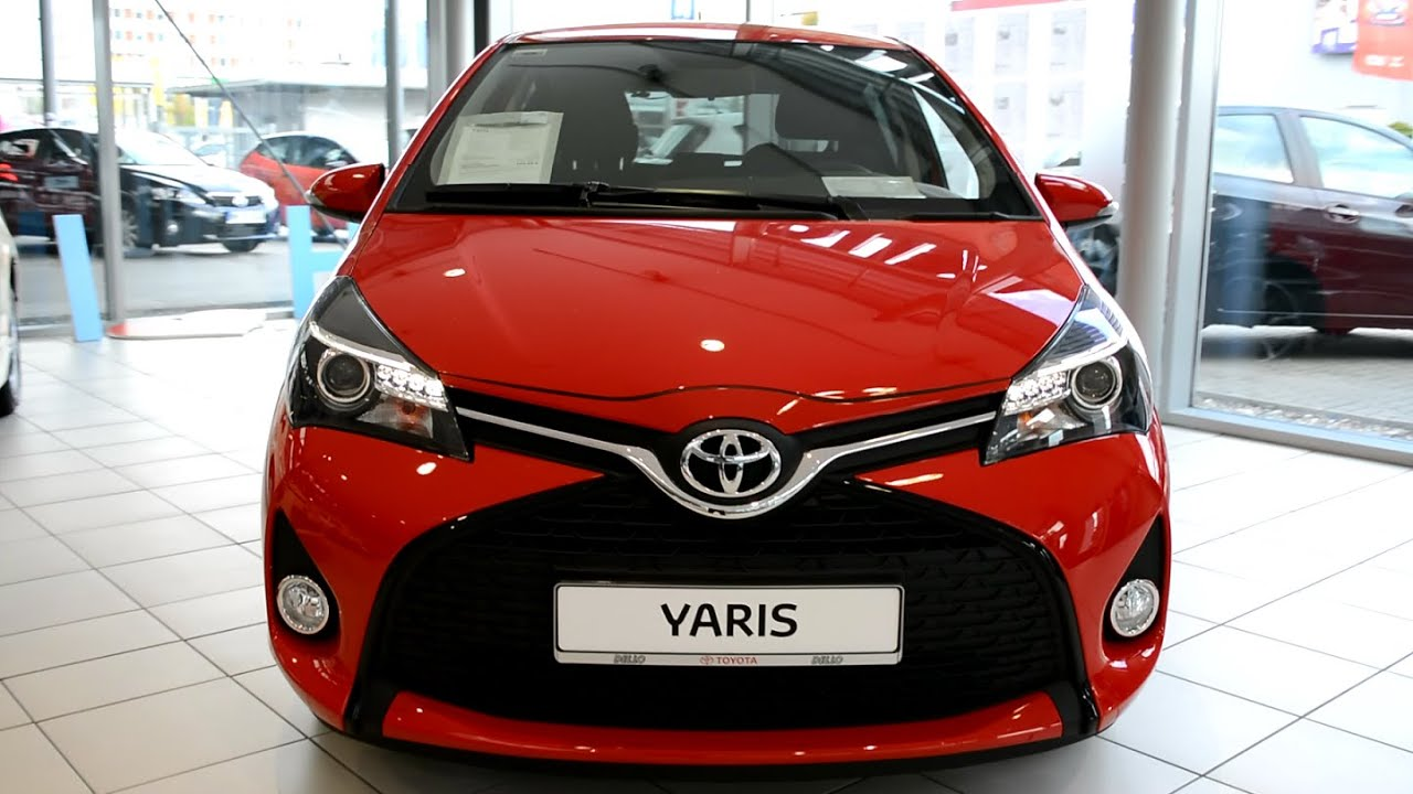 2015 New Toyota Yaris Exterior And Interior Youtube
