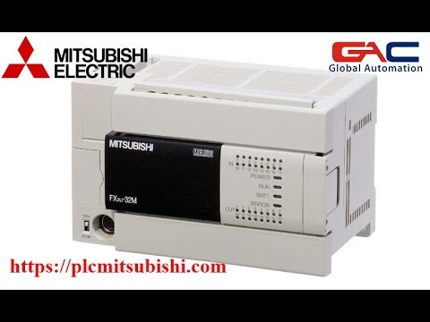 Lập trình PLC mitsubishi cơ bản – Bài 1