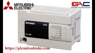 Lập trình PLC mitsubishi cơ bản - Bài 1