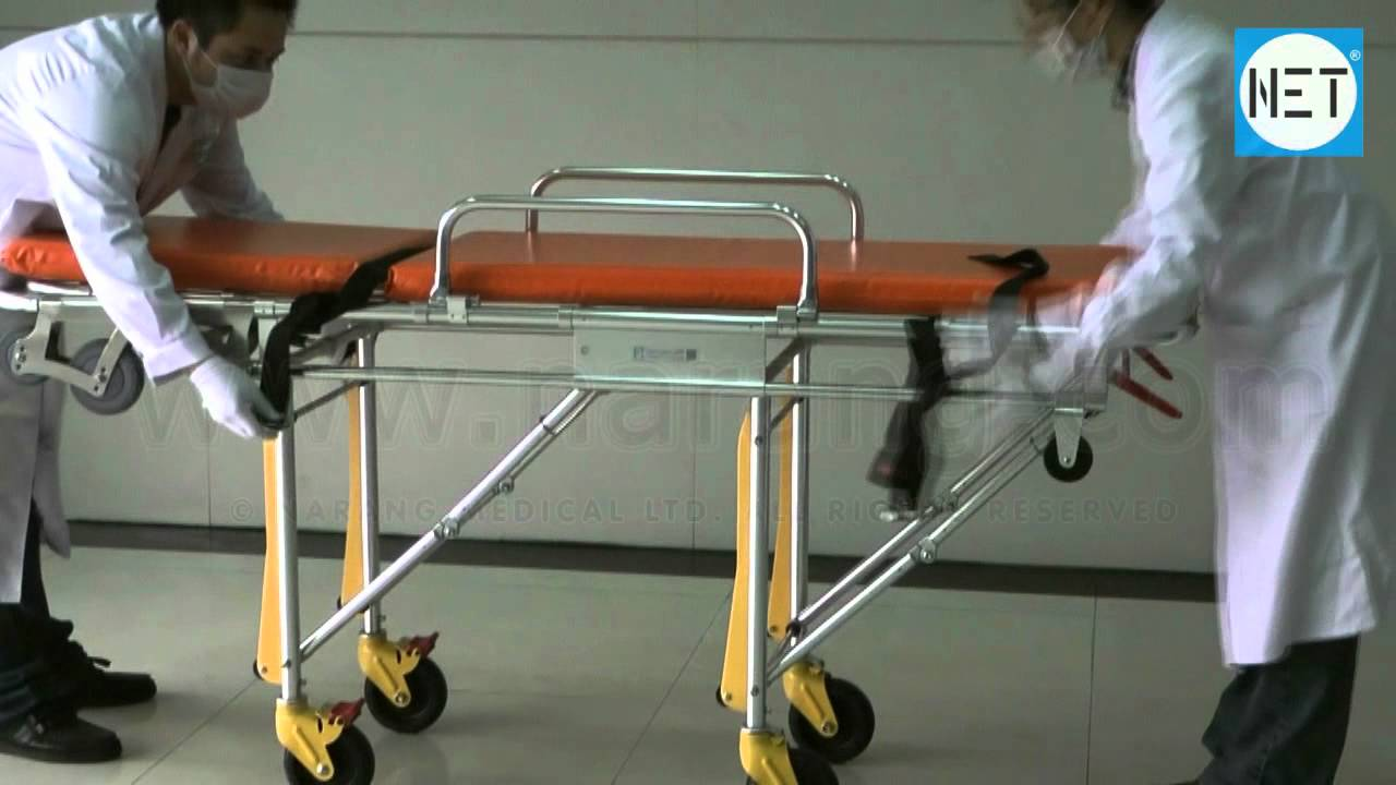 Stretcher Automatic Loading for Ambulance. Item Code: HF5120 - YouTube