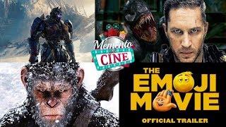 Memento del Cine 91 - Película de Venom, Transformers 5 y más