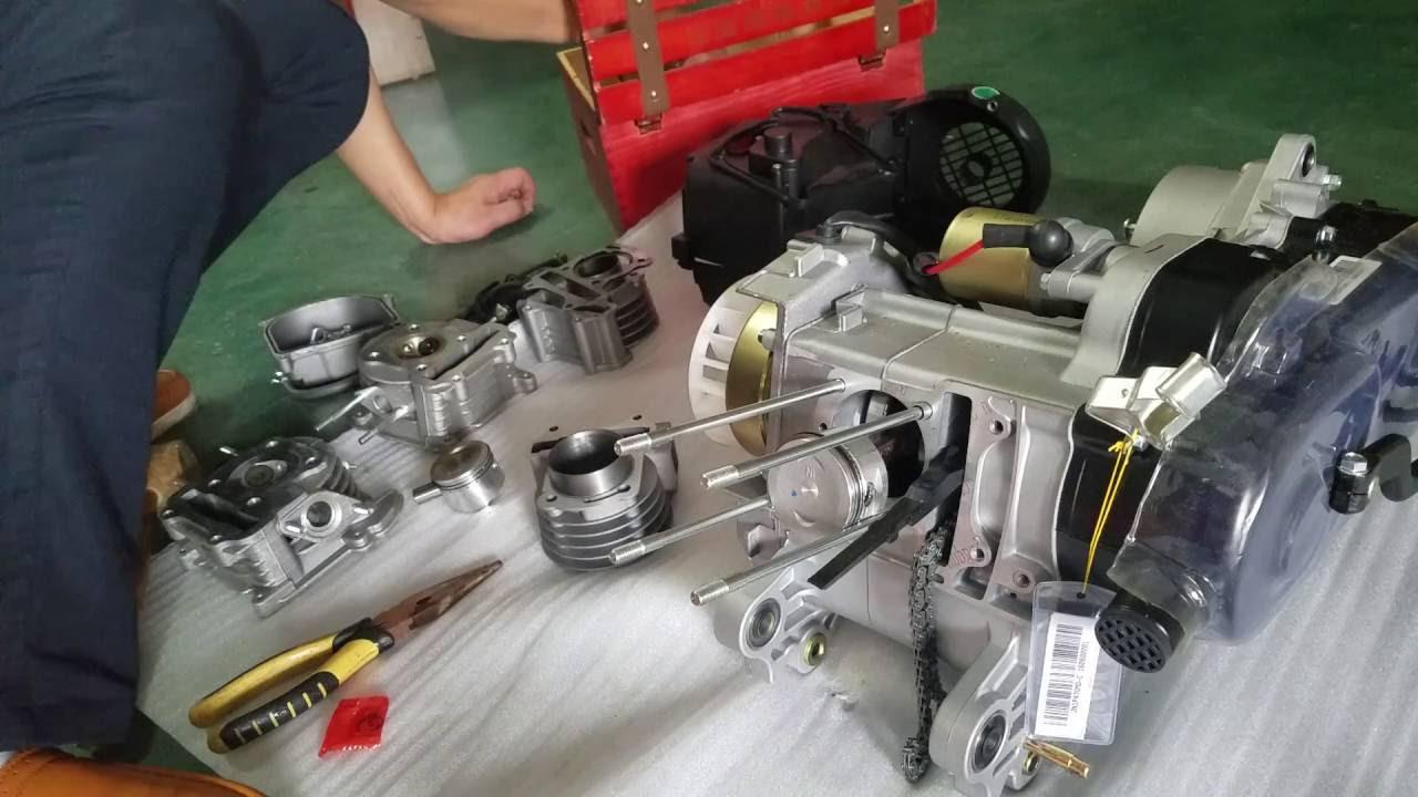 GOOFIT 100cc big bore engine rebuild kit (50cc upgrade to 100cc)
