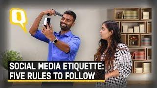 Partner l Social Media Etiquette: 5 Rules To Follow | The Quint