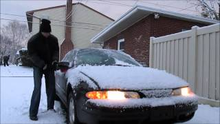 Snow removal in 60 seconds