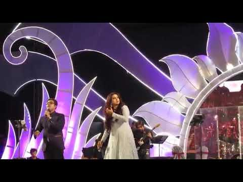 Ghoomar live by Shreya Ghoshal || Sreebhumi 2018