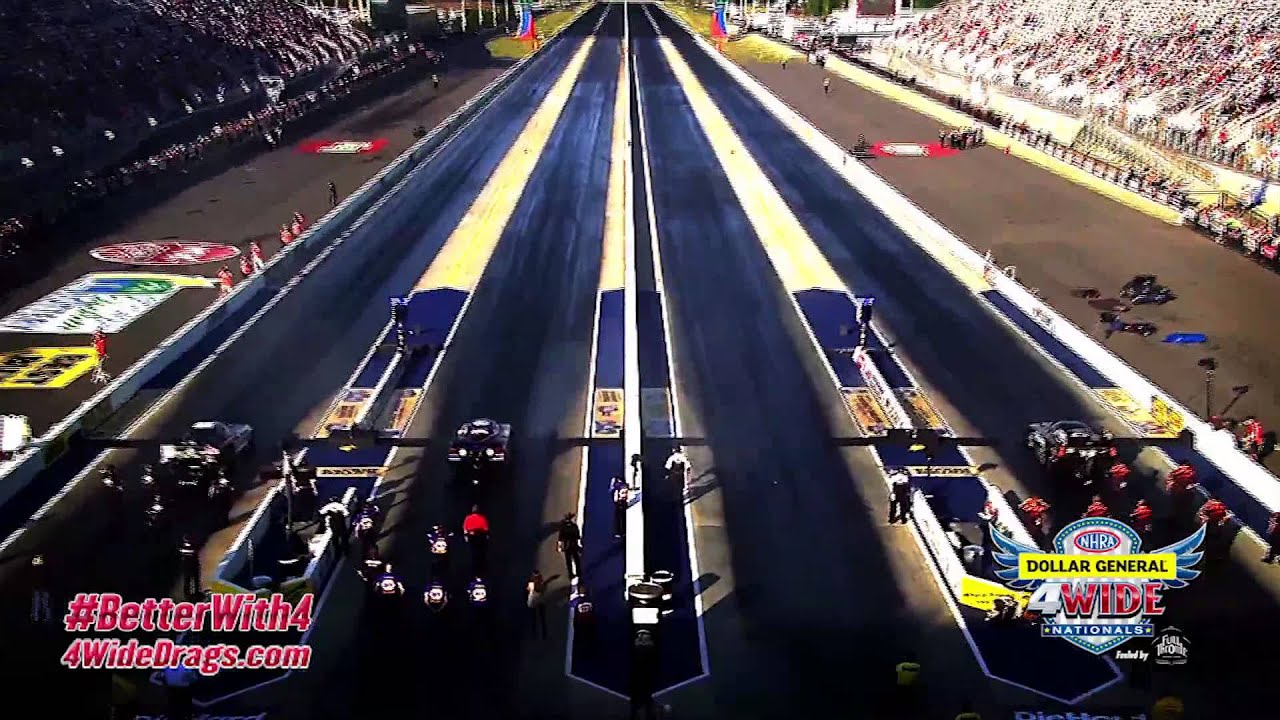 2015 Volkswagen Beetle Charlotte >> NHRA 4-Wide Racing at zMAX Dragway! | Doovi