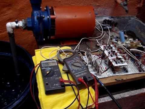 Variador de frecuencia para motor trifasico de 1hp con for Bombas de agua para estanques de jardin