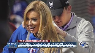 Police Report: Johnny Manziel pulled over during domestic argument, admits to drinking