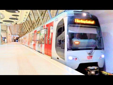 Metro en Trein Rotterdam