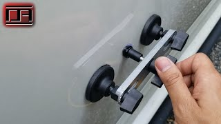 Download Paintless Dent Removal (PDR) Using the Harbor Freight Crossbar Dent Repair Kit Mp3 and Videos