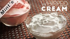 How To Make Whipped Cream at Home In Hindi | Homemade Whipped Cream