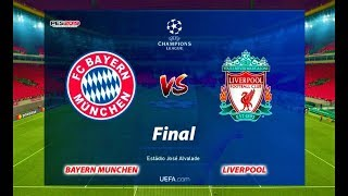 BAYERN MUNCHEN vs LIVERPOOL | UEFA Champions League FINAL | PES 2019 Gameplay HD
