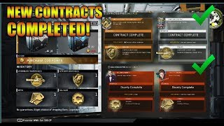 Opening New Contracts And Bounties! Legendary Sniper Hack And Stryker Gear Hack!