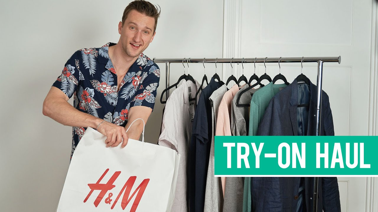 H&M Summer Try-On Haul 2019   Men's Fashion