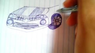 Desenhando um Camaro