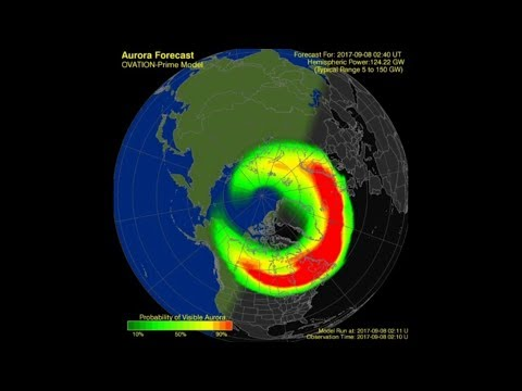 SOLAR ACTIVITY UPDATE: Severe G4-Geomagnetic Storm: Sept. 8th, 2017.