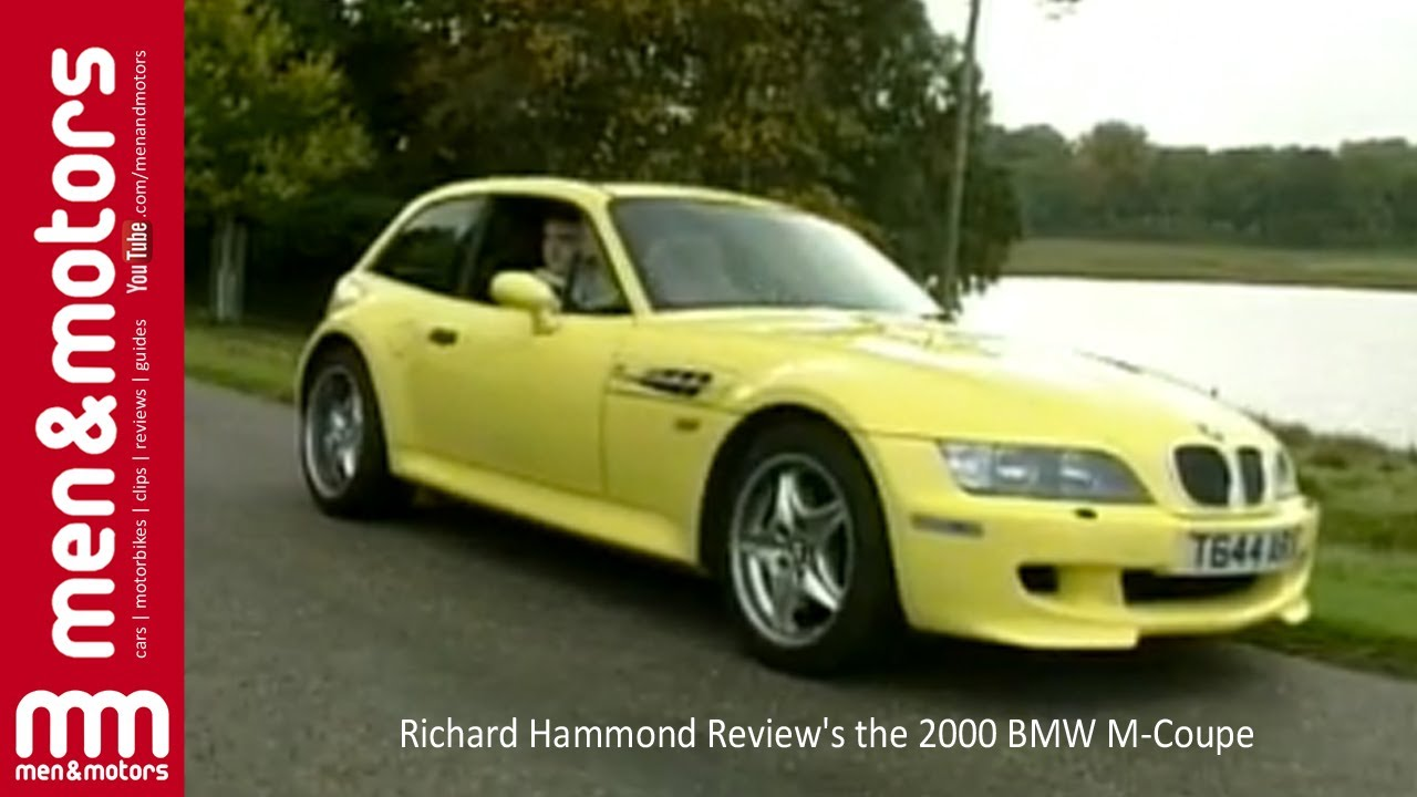 Richard Hammond Reviews the 2000 BMW MCoupe  YouTube