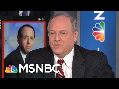 Does Rod Rosenstein's Expected Exit Signal End To Mueller Probe? | Velshi & Ruhle | MSNBC