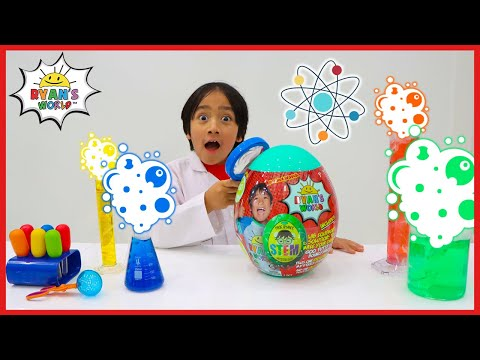 Scientist Ryan and the Ryan's World Surprise Subscription Activities for kids!