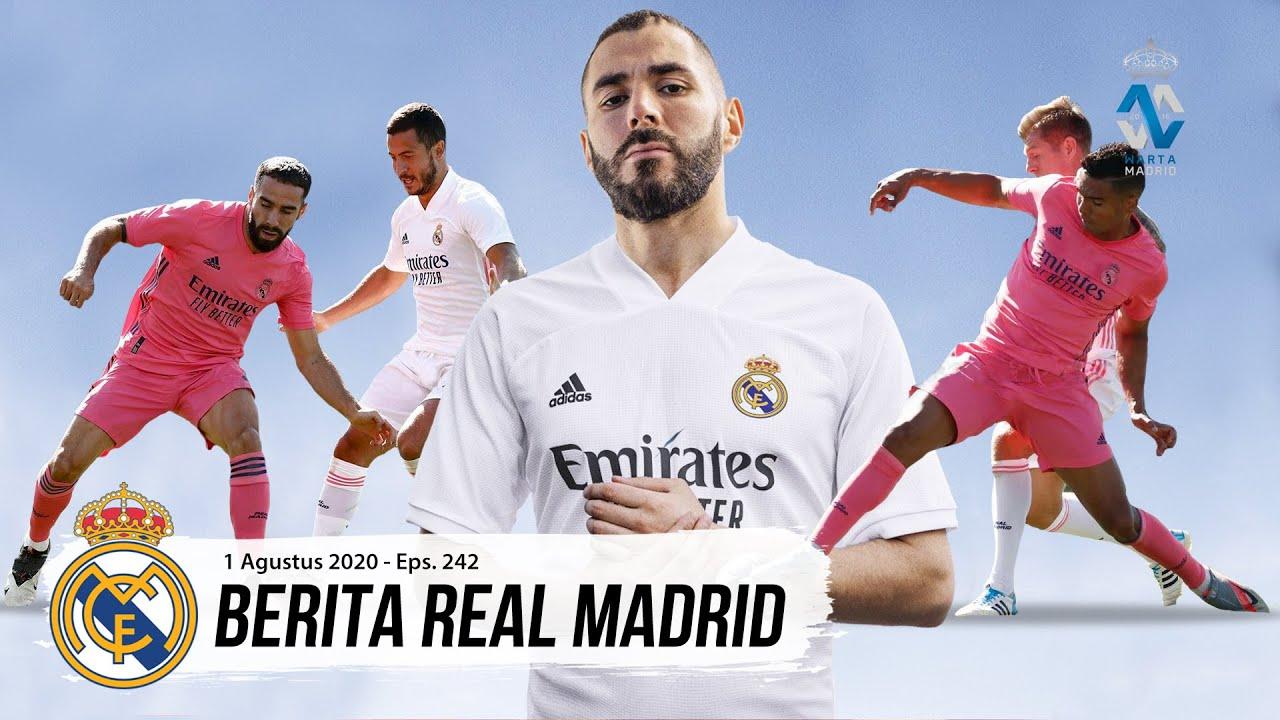 Persiapan Jelang Laga Menghadapi Manchester City | Real Madrid Resmi Rilis Jersey Musim 2020/21