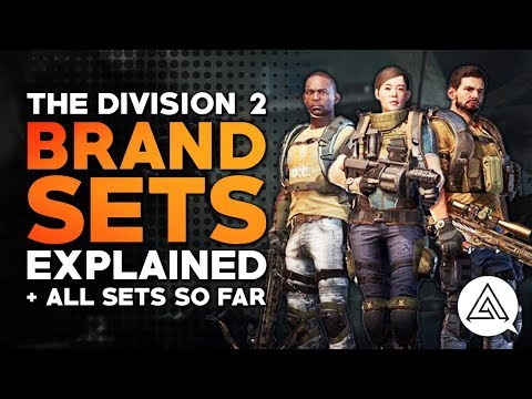 The Division 2 | All Brand Sets So Far & Brand Sets Explained