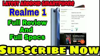 Realme 1 Oppo Smartphone Full Review    Best Price Smart Phone    Latest Smartphone    Tech9rise