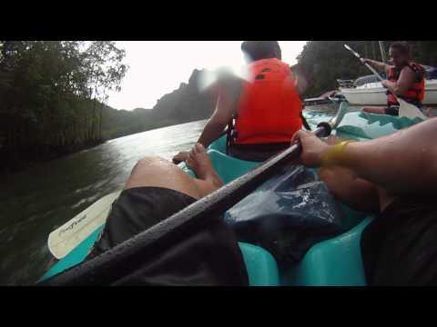 Langkawi   Kayak Tour Part 1