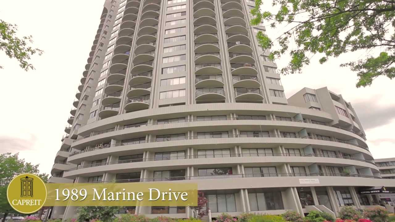 Vancouver Apartments for Rent Video - 1989 Marine Dr - YouTube