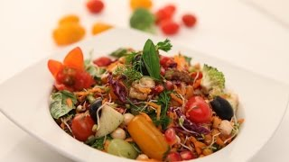 Rainbow Salad  Health And Colors - Be Fit Be Cool Aapi Vahrehvah