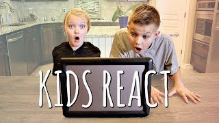KIDS REACT to Parent's Wedding Video!
