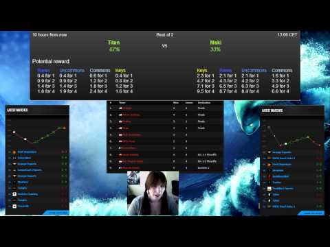 SEA betting with Lily ~ 17 Feb 2014, Dota 2 Lounge bets
