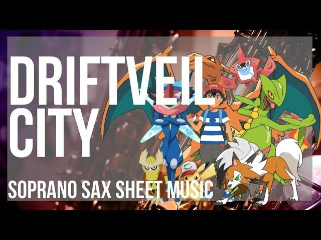 Soprano Sax Sheet Music How To Play Driftveil City Pokemon By Hitomi Sato Youtube Listen to music from driftveil city like pokémon black & white music extended, pokémon black/white & more. youtube