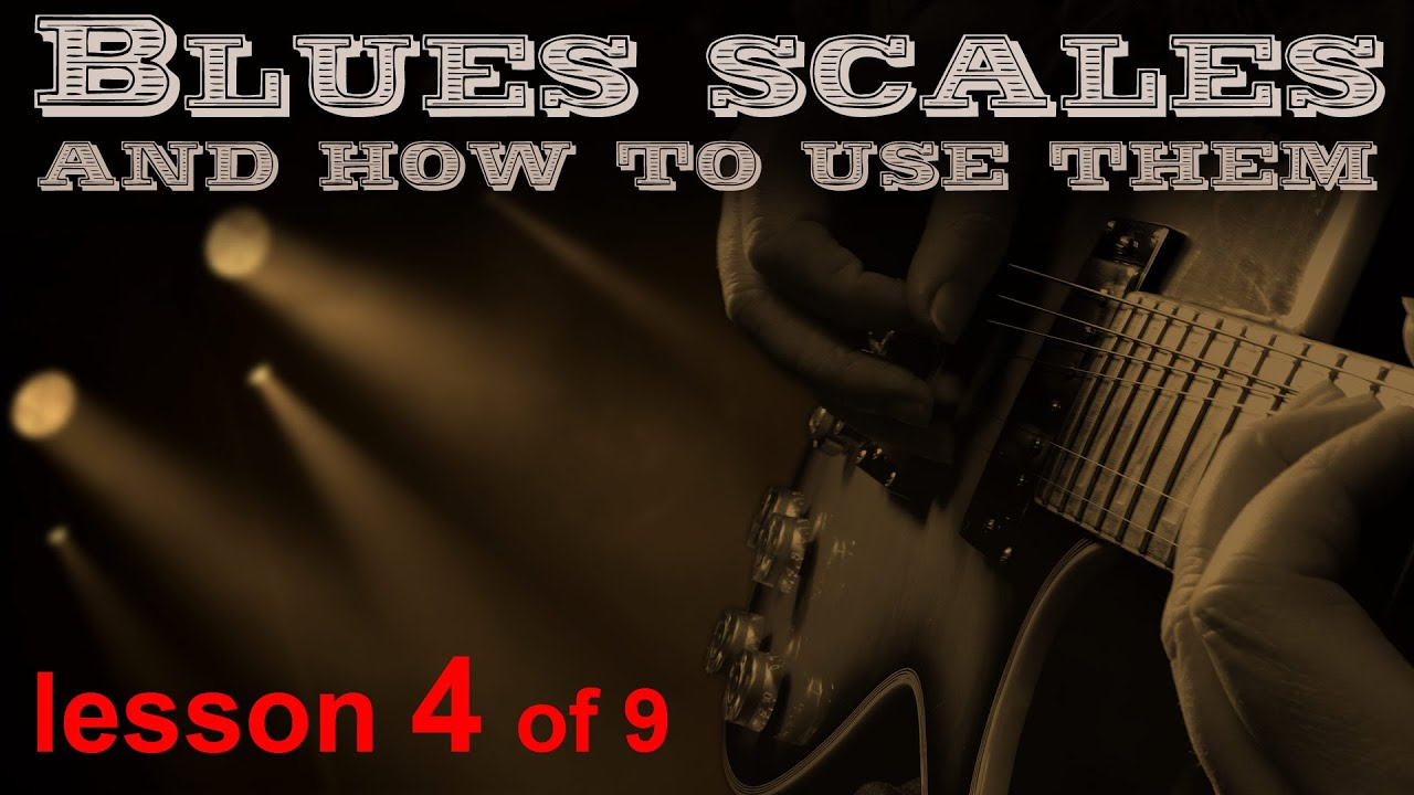Part 2 of 5, Play the blues scales on guitar. the second