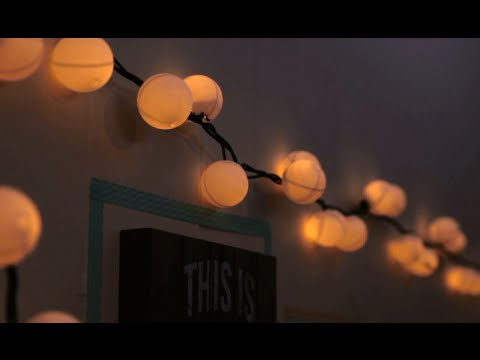 Beautiful DIY Ping Pong Ball Globe Lights Nice Look