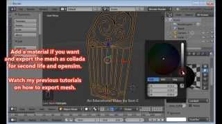 Easily Make A Wrought Iron Gate Or Fence For Opensim Or Secondlife- Hd Video Tutorial